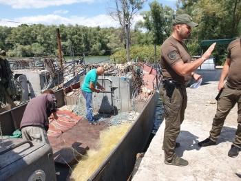 Одним із рибодобувних підприємств Кіровоградської області завдано збитків на майже 1,5 млн грн